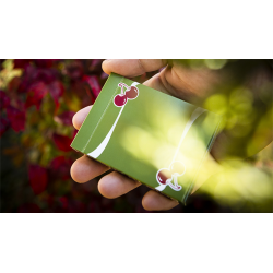 Cherry Casino Fremonts (Sahara Green) Playing Cards by Pure Imagination Projects wwww.jeux2cartes.fr