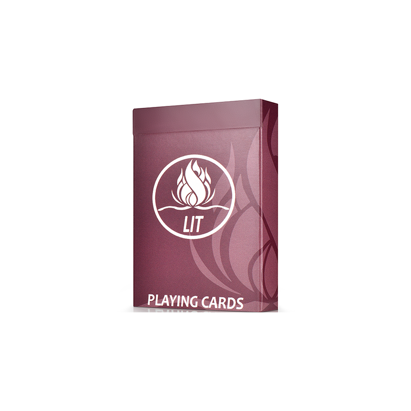 LIT Playing Cards by Michael McClure wwww.jeux2cartes.fr