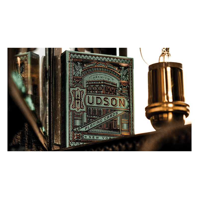 Hudson Playing Cards by theory11 wwww.jeux2cartes.fr