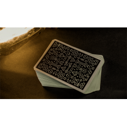 Deluxe ICON BLK Playing Cards by Pure Imagination Project wwww.jeux2cartes.fr
