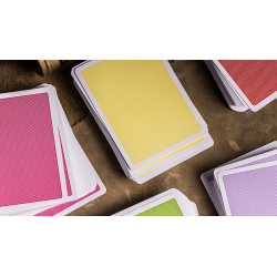 Steel Playing Cards (Yellow) by Bocopo wwww.jeux2cartes.fr