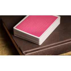Steel Playing Cards (Pink) by Bocopo wwww.jeux2cartes.fr