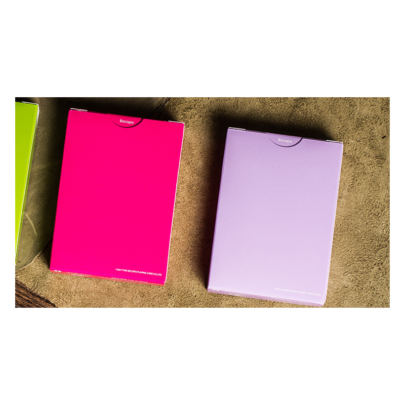 Steel Playing Cards (Purple) by Bocopo wwww.jeux2cartes.fr
