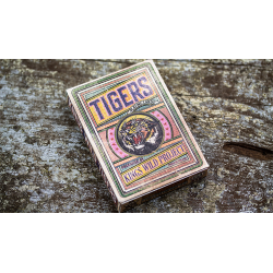 Kings Wild Tigers Playing Cards by Jackson Robinson wwww.jeux2cartes.fr