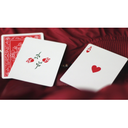 Red Roses Playing Cards by Daniel Schneider wwww.jeux2cartes.fr