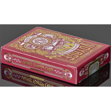 Voyage (Red) Playing Cards wwww.jeux2cartes.fr