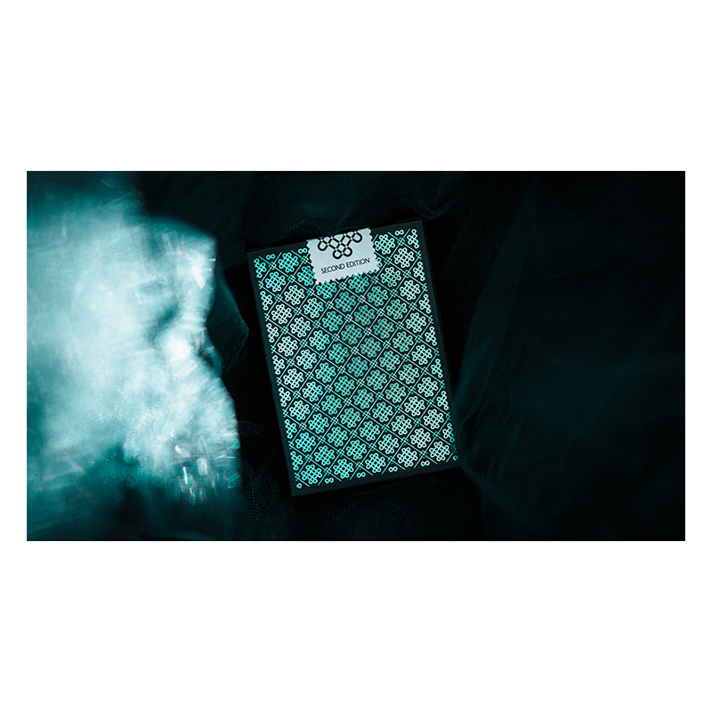 Mint 2 Playing Cards (Cucumber) wwww.jeux2cartes.fr