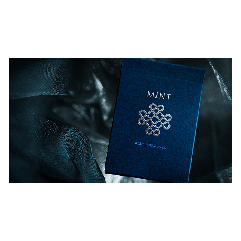 Mint 2 Playing Cards (Blueberry) wwww.jeux2cartes.fr