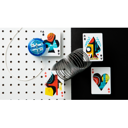 Off the Wall Playing Cards by Art of Play wwww.jeux2cartes.fr