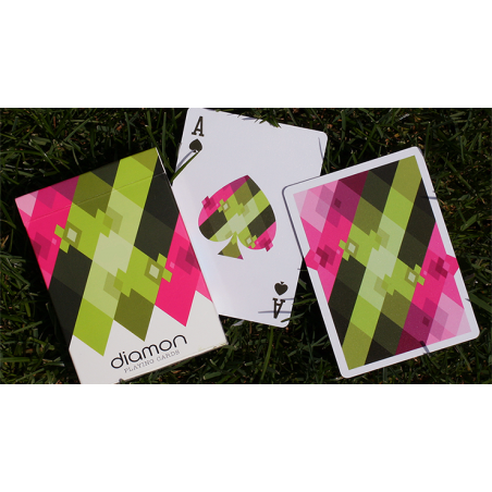 Diamon Playing Cards N° 8 Summer Bright by Dutch Card House Company wwww.jeux2cartes.fr