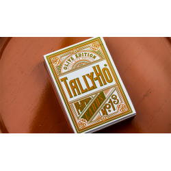 Olive Tally Ho no. 13 Playing Cards by Jackson Robinson wwww.jeux2cartes.fr