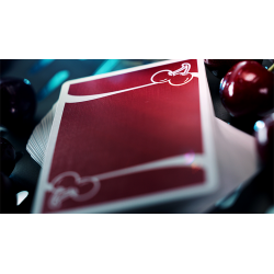 Cherry Casino (Reno Red) Playing Cards By Pure Imagination Projects wwww.jeux2cartes.fr