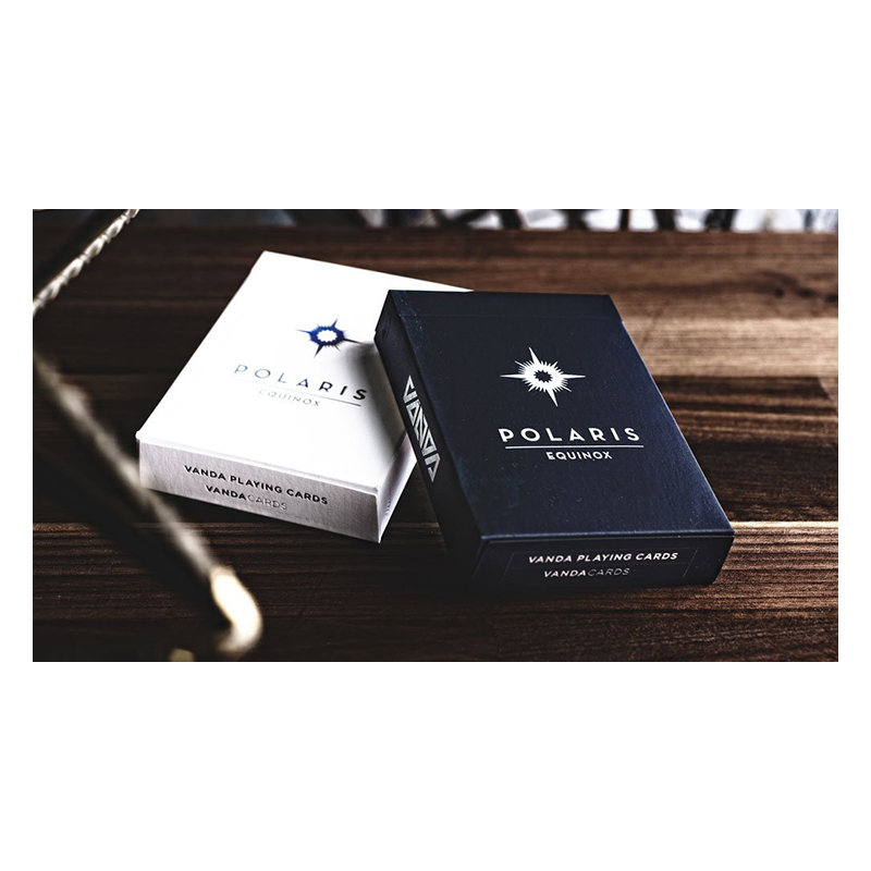 Polaris Equinox Dark Edition Playing Cards wwww.jeux2cartes.fr