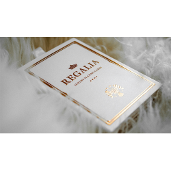 Regalia White Playing Cards by Shin Lim wwww.jeux2cartes.fr
