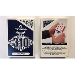 Jeu de cartes Copag 310 Stripper (Bleu) wwww.jeux2cartes.fr