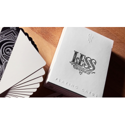 Less Playing Cards (Silver) by Lotrek wwww.jeux2cartes.fr