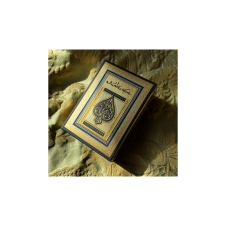 ARABESQUE Playing Cards - Player's Edition (Blue) by Lotrek wwww.jeux2cartes.fr