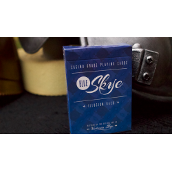 Blue Skye Playing Cards by UK Magic Studios and Victoria Skye wwww.jeux2cartes.fr