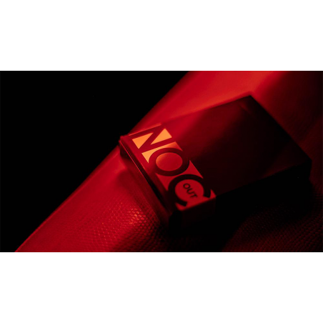 NOC Out: RED/GOLD Playing Cards wwww.jeux2cartes.fr