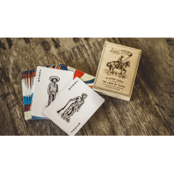 Deluxe Lone Star Playing Cards by Pure Imagination Project wwww.jeux2cartes.fr