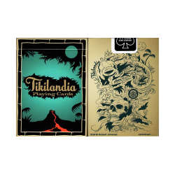 Tikilandia Playing Cards Printed by USPCC wwww.jeux2cartes.fr