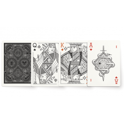 The MGCO Black Playing Cards wwww.jeux2cartes.fr