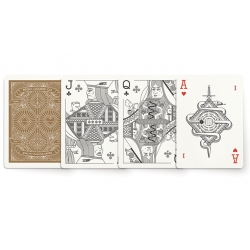The MGCO Red Playing Cards wwww.jeux2cartes.fr
