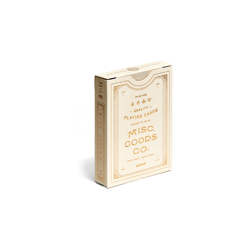 The MGCO Ivory Playing Cards wwww.jeux2cartes.fr