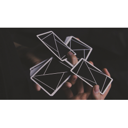 FLEXIBLE (Black) Playing Cards by TCC wwww.jeux2cartes.fr
