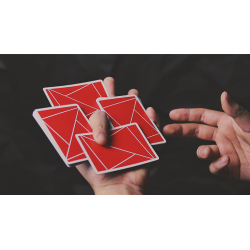 FLEXIBLE (Red) Playing Cards by TCC wwww.jeux2cartes.fr