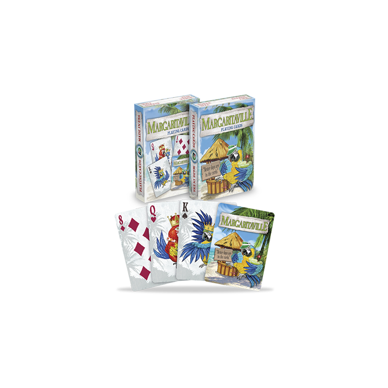 Margaritaville Playing Cards wwww.jeux2cartes.fr