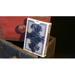 Intaglio Blue Playing Cards by Jackson Robinson wwww.jeux2cartes.fr