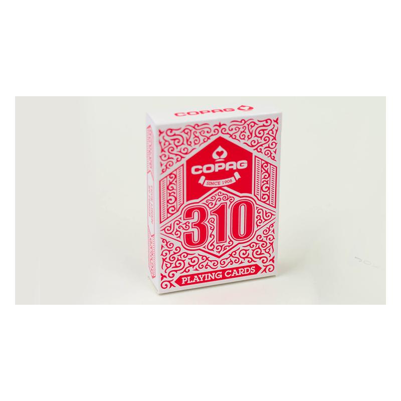 Jeu de carte COPAG 310 (Rouge) wwww.jeux2cartes.fr