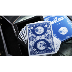 Les Melies Conquest Blue Playing Cards by Pure Imagination Projects wwww.jeux2cartes.fr