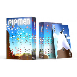 Pipmen Version 2: World Full Art Playing Cards by Elephant Playing Cards wwww.jeux2cartes.fr