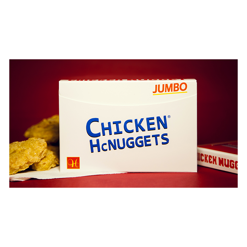Jumbo Chicken Nugget Playing Cards - Red wwww.jeux2cartes.fr