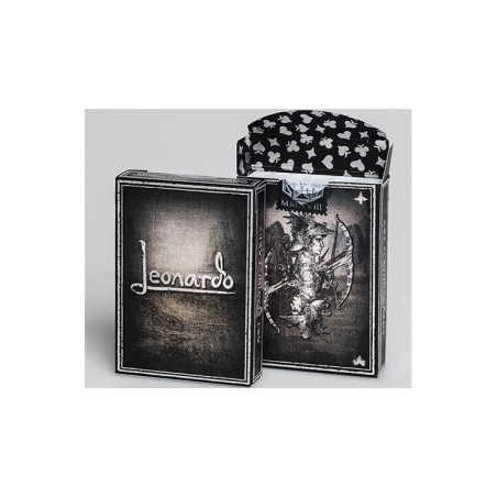 Leonardo MMXVIII Silver Edition by Art Playing Cards wwww.jeux2cartes.fr