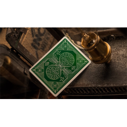 Green National Playing Cards by theory11 wwww.jeux2cartes.fr