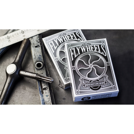 Flywheels Playing Cards by Jackson Robinson and Expert Playing Card Co. wwww.jeux2cartes.fr