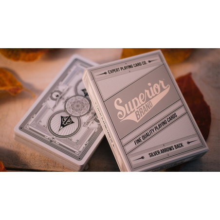 Superior Silver Arrow Playing Cards by Expert Playing Card Co wwww.jeux2cartes.fr