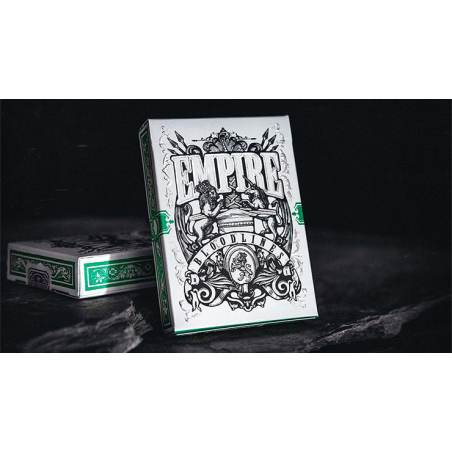Empire Bloodlines (Emerald Green) Playing Cards wwww.jeux2cartes.fr