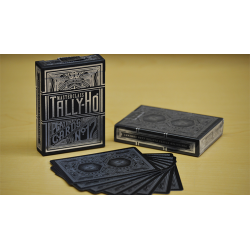 Tally-Ho Masterclass (Black) Playing Cards wwww.jeux2cartes.fr