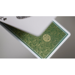 Visa Playing Cards (Green) by Patrick Kun and Alex Pandrea wwww.jeux2cartes.fr