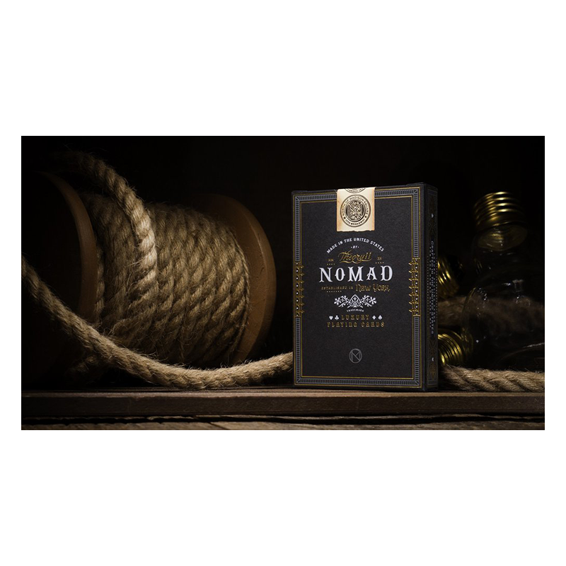 NoMad Playing Cards by theory11 wwww.jeux2cartes.fr