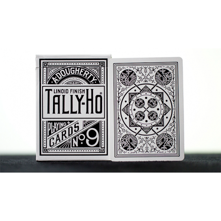 White Tally-Ho (Fan Back) Playing Cards wwww.jeux2cartes.fr