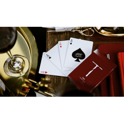 New T Playing Cards (Red) wwww.jeux2cartes.fr