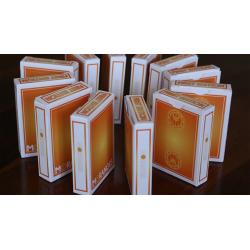 Moranges Playing Cards-First Edition (Aqua Finish) by Magic Encarta wwww.jeux2cartes.fr