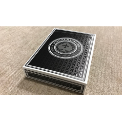 Premier Edition in Jet Black (Private Reserve) by Jetsetter Playing Cards wwww.jeux2cartes.fr