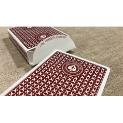 Premier Edition in Restricted Red by Jetsetter Playing Cards wwww.jeux2cartes.fr