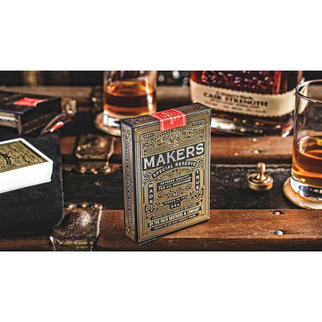 MAKERS: Blacksmith Edition Playing Cards by Dan and Dave wwww.jeux2cartes.fr